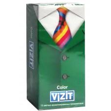 Презервативы VIZIT new Color Цветные ароматизированные 12шт