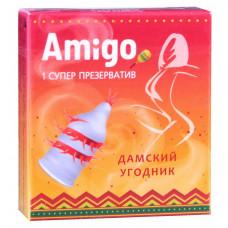 Презерватив Amigo Дамский угодник 1шт супер шипы