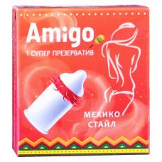 Презерватив Amigo Мехико стайл 1шт (супер шипы)