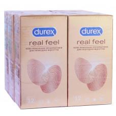 Блок презервативов Durex 6 пачек №12 Realfeel