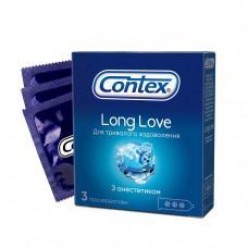 Презервативы Contex №3 Long Love