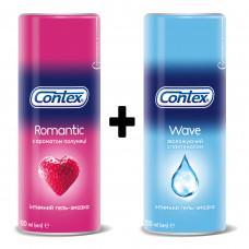 Комплект гелей Contex для влюблённых 2 шт. по 100мл