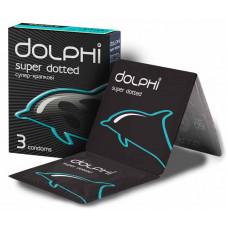 Презервативы Dolphi Super Dotted точечные №3