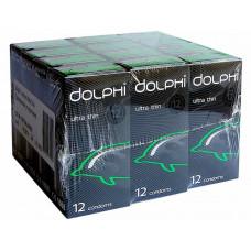 Блок презервативов Dolphi Ultra thin №144 (12 пачек по 12 шт)