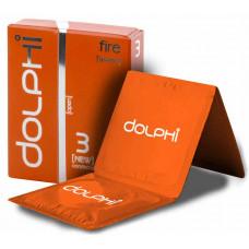 Презервативы Dolphi NEW Fire (Warm) №3 разогревающие
