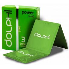 Презервативы Dolphi NEW Power (Cool) №3 пролонгирующие
