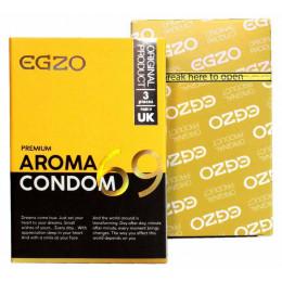 Презервативы EGZO Premium AROMA ароматизированные 3 шт