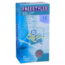 Презервативы FREESTYLES №12 Ultra Light, Супертонкие