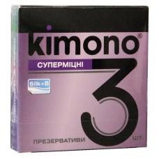Презервативы Kimono №3 Суперпрочные