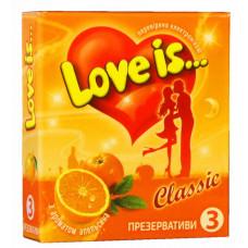Презервативы Love is... №3 апельсин (комикс внутри)