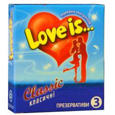 Презервативы Love is... №3 классик (комикс внутри)