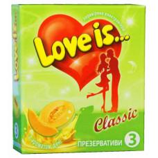 Презервативы Love is... №3 дыня (комикс внутри)