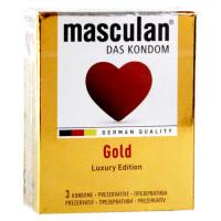Презервативы Masculan GOLD 3шт