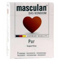 Презервативы Masculan PUR 3шт