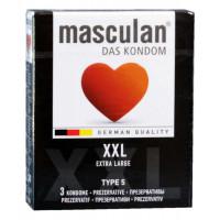 Презервативы Masculan XXL 3шт