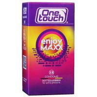 Презервативы One touch Enjoy Maxx №12 точки и ребра