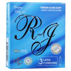 Презервативы R and J Tender ультра мягкие с обильной смазкой 3шт