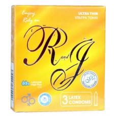 Презервативы R and J Ultra Thin ультратонкие 3шт