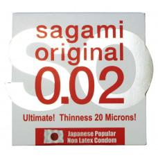 Презервативы Sagami 0.02 Полиуретановые 1шт