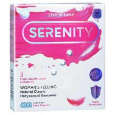 Презервативы Serenity Womans feeling классические 3шт