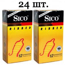 Презервативы Sico ribbed Ребристые №24