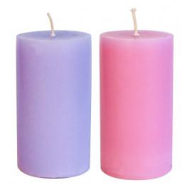 Комплект маленьких свечей с афродизиаками Жасмин+Лаванда