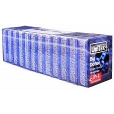 Блок презервативов Unіtex №48 Bіg Dotted Большие точки
