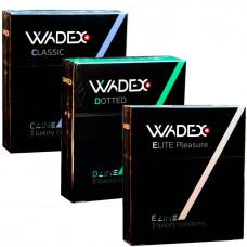 Пробный комплект WADEX №9 (3 пачки по 3 шт)